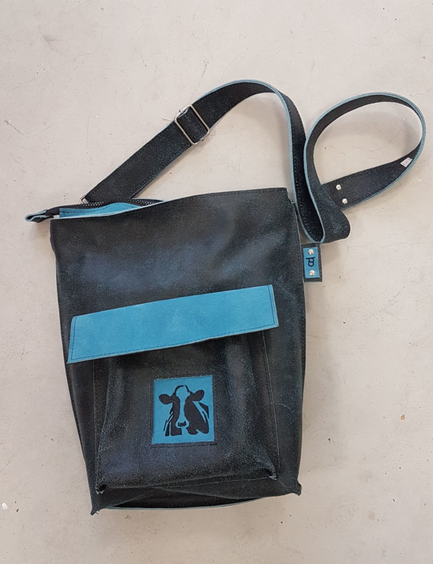 Cow leather bag