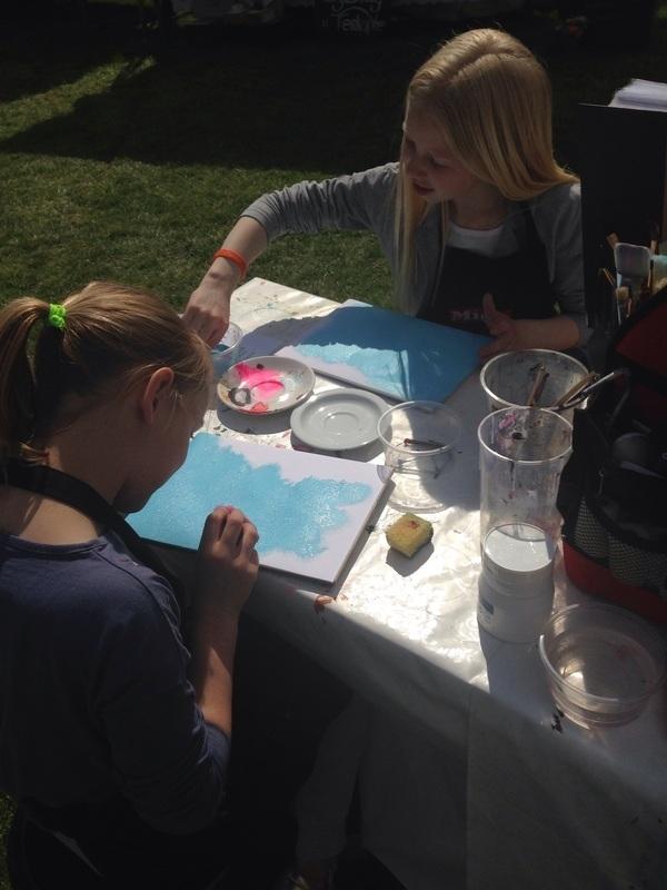2 mei Workshop kinderen op fair