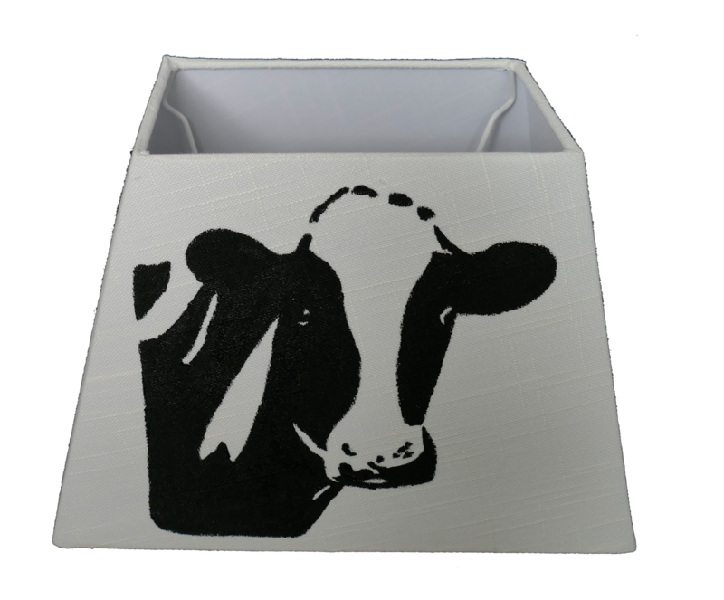 Koeien lampenkap