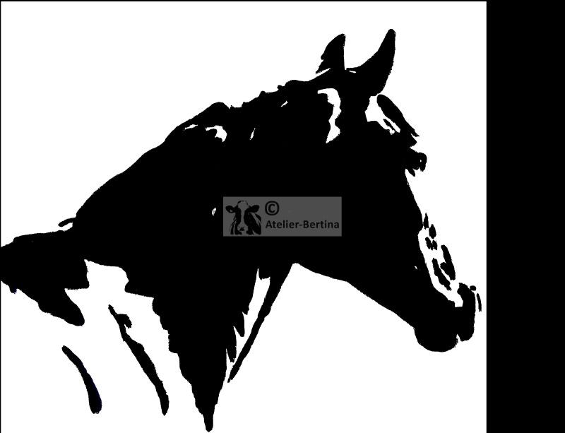 paard acryl schilderij