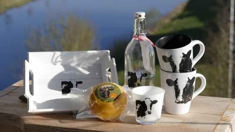 Koeien en zunakaas geschenken/cadeau pakket