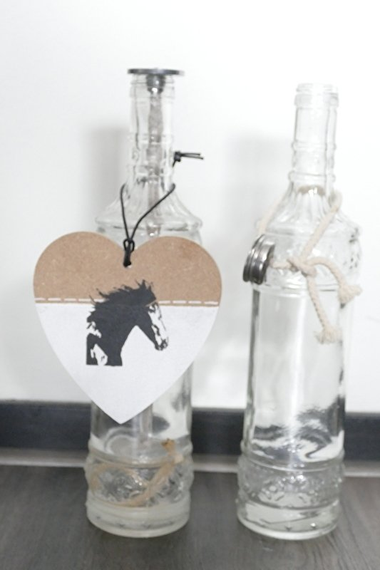 Hearts with horse