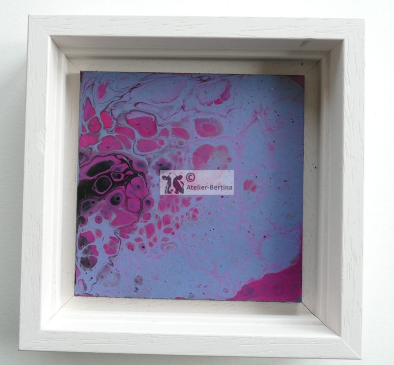 Schilderij acryl gieten