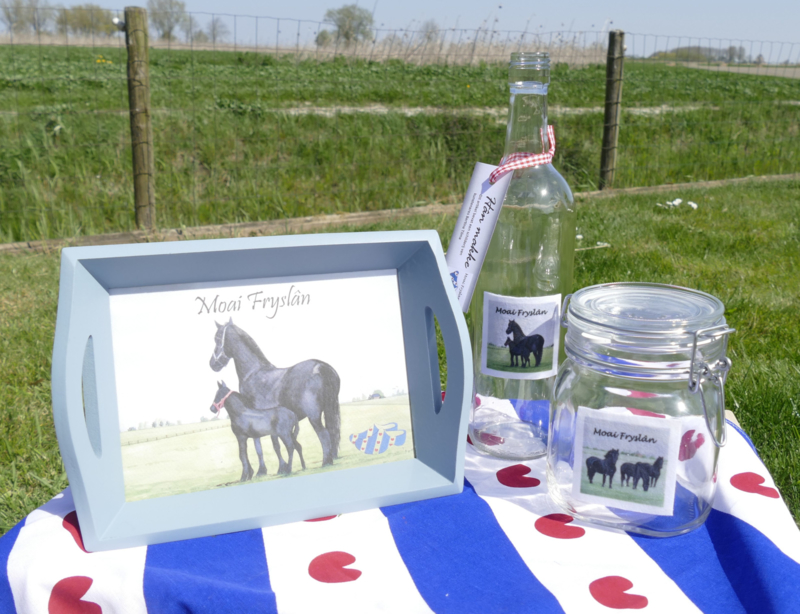 cadeau geschenken pakket friese paarden