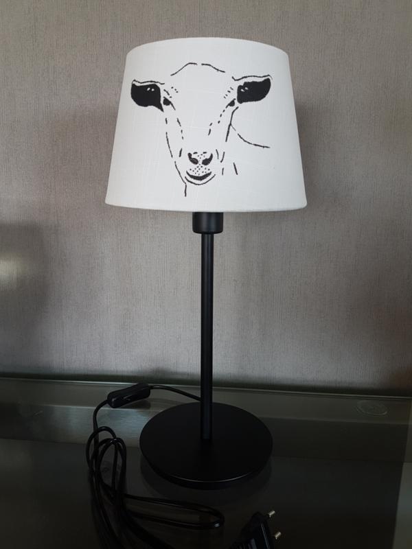 Goat lamp