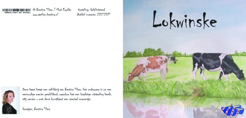 wenskaart: lokwinske