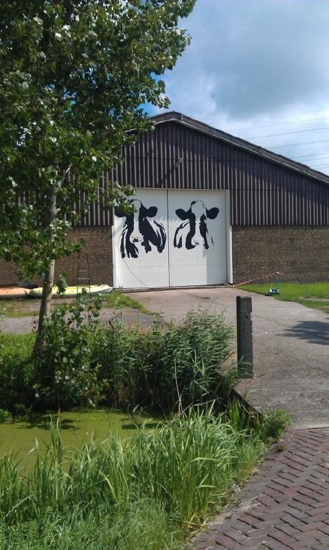 Barn Door Mural