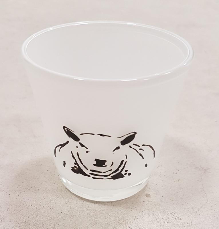 Sheep tea light