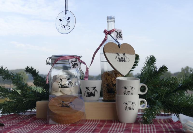 Uniek schapen geschenken/cadeau  pakket (ook voor kerst)