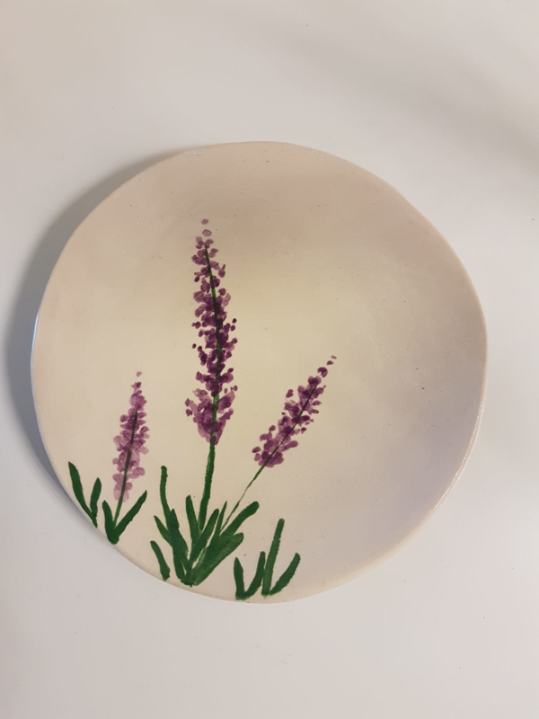 Bordje / schaaltje lavendel