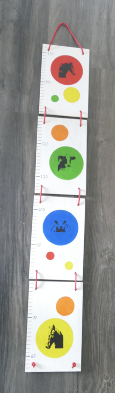 Measuring rod for the nursery cow horse and sheep