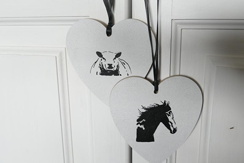 Hartje met paard