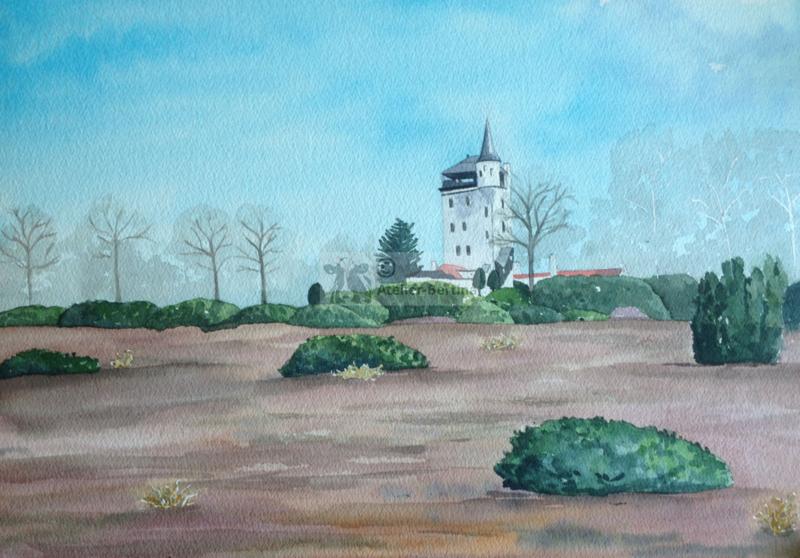 Toren van Palther  tuinposter