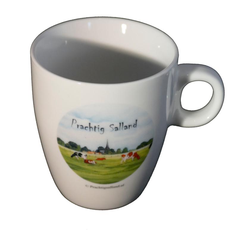 Koffie mokje koeien Prachtig Salland (senseo)