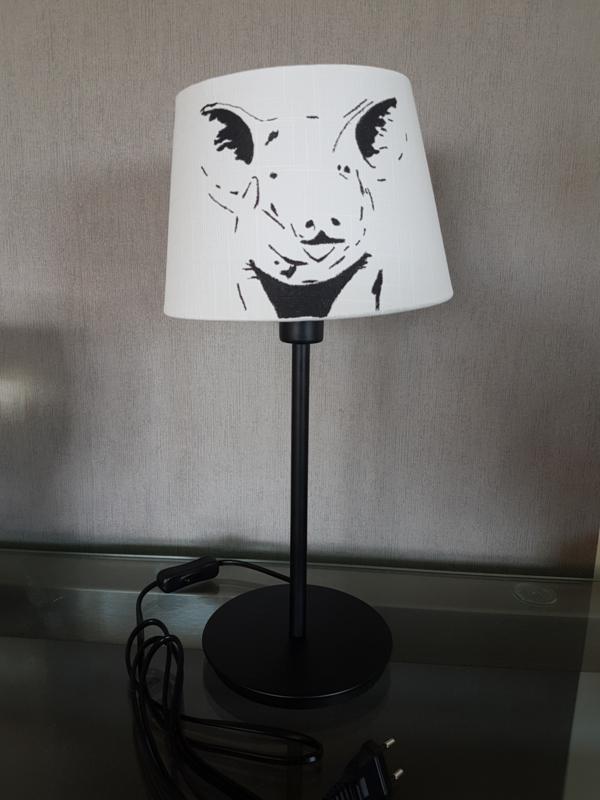 Pig lamp