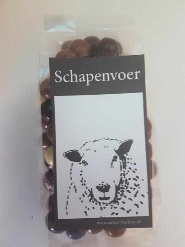 Chocopinda's: schapenvoer