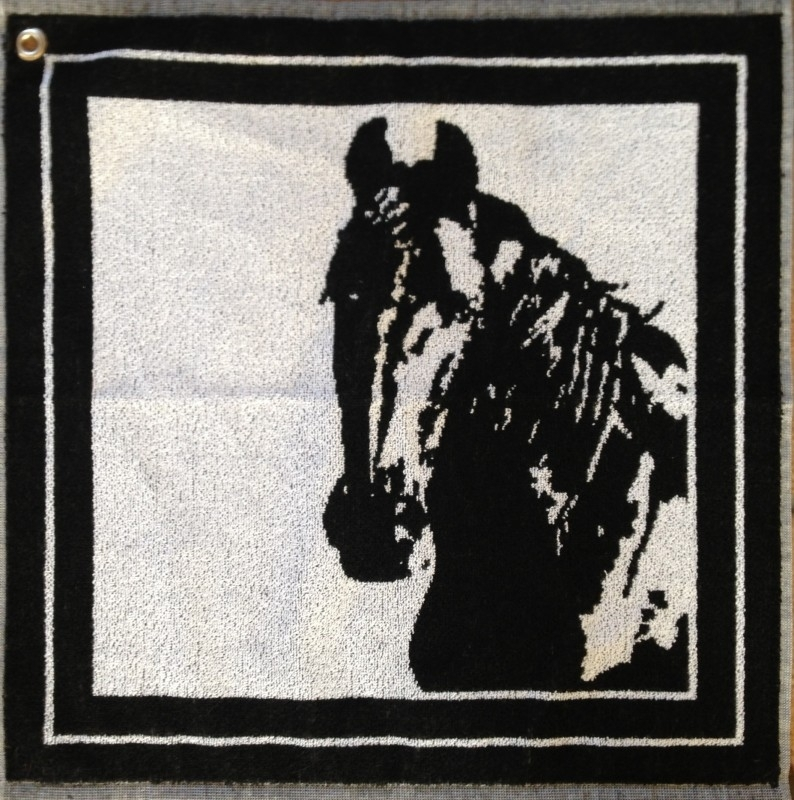 Luxury kitchen towel horse
