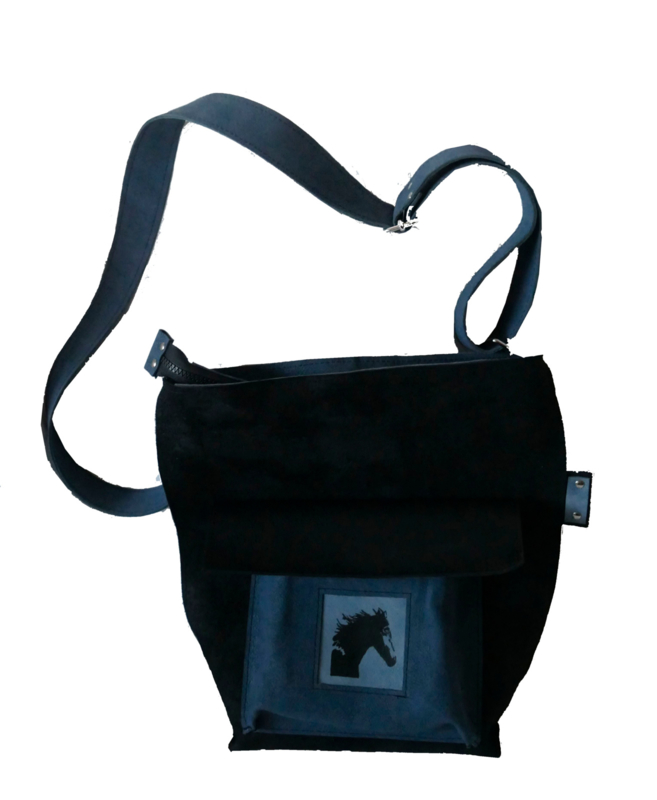 Horse bag of leather