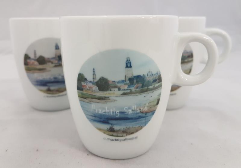 Koffie mokje Deventer Prachtig Salland (senseo)