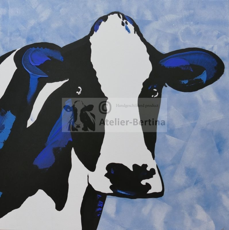 Cow acrylic painting