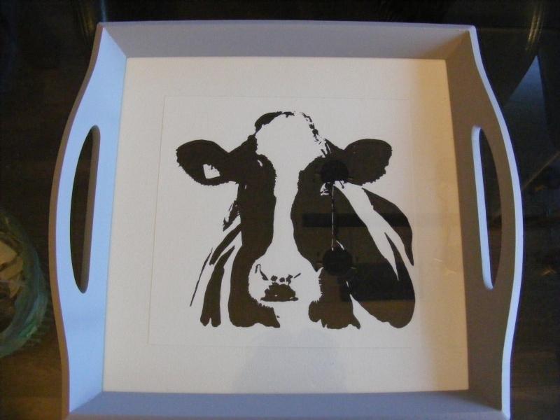 Dienblad koe (middel)