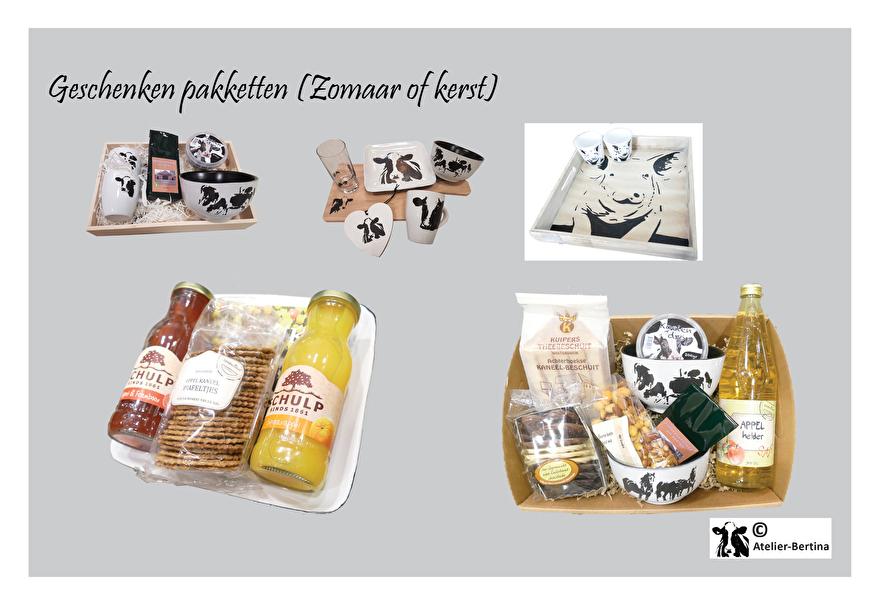 geschenken pakket koe paard geit varken salland friesland schaap kerst relatie geschenk zomaar