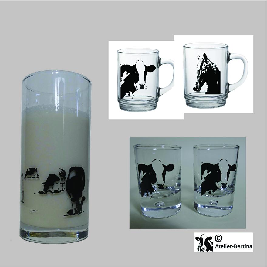 glas borrel longdrink koe paard geit schaap zeehond varken
