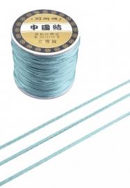 Satijnkoord  ± 1mm per meter: grijsblauw
