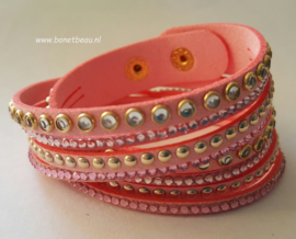 Wikkelarmband rose-goud