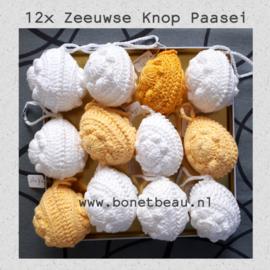 12x Zeeuwse Knop Paasei