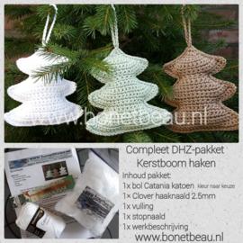Doe-het-zelf pakket Kerstboom haken