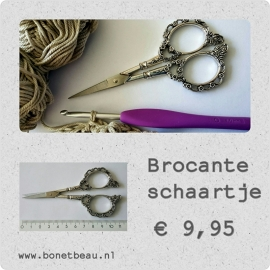 Brocante borduurschaar