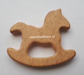 Beuken houten ring Hobbelpaard