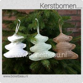Doe-het-zelf pakket Kerstboom haken ZONDER haaknaald