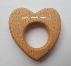 Beuken houten ring Hartje