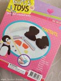 Haakpakket voor kids Pinguïn