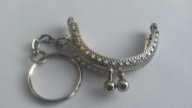 Beugel Portemonnee sleutelhanger 5 cm : 4 stuks