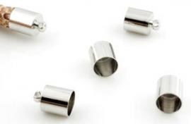 Metalen eindkapje 6mm