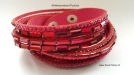 Wikkelarmband Fuchsia