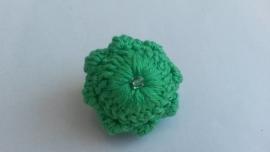 Broche Zeeuwse knop groen