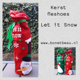 "Kerstfleshoes ""Let it Snow"""