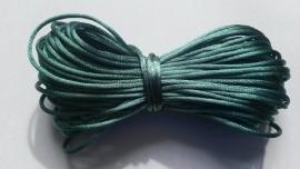 Satijnkoord  ± 1mm per 10 meter: grijsblauw