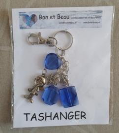 Tas - Sleutelhanger Kobalt blauw