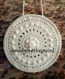 Zeeuwse Knop Mandala 18cm wit