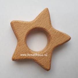 Beuken houten ring Ster