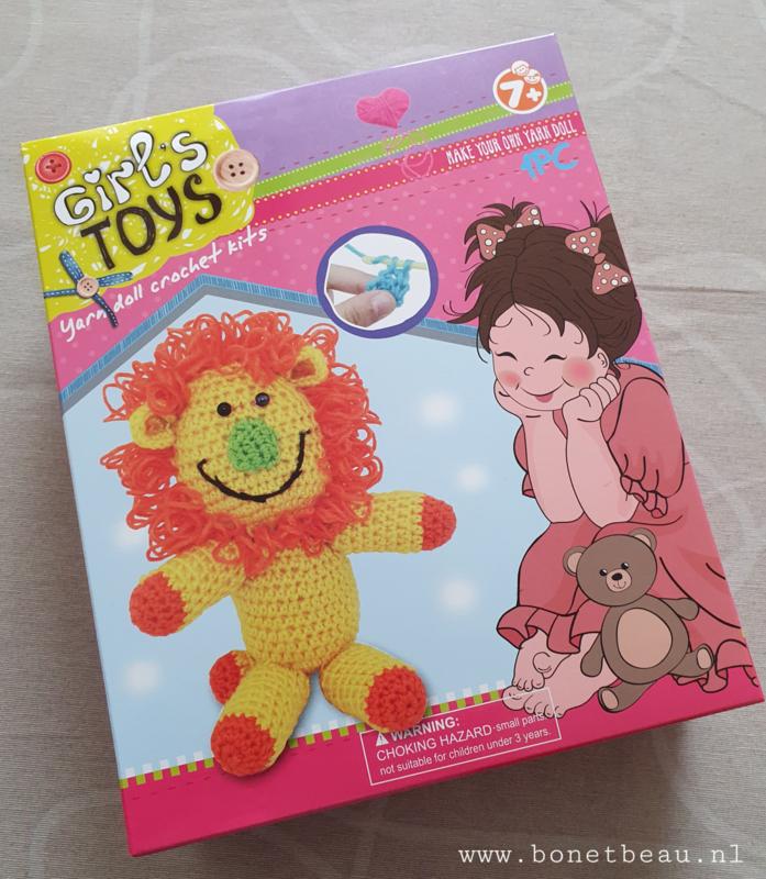 Haakpakket voor kids Leeuw