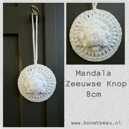 Zeeuwse Knop Mandala 8cm