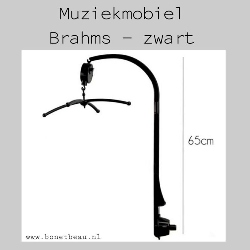Muziekmobiel Brahms Lullaby Zwart
