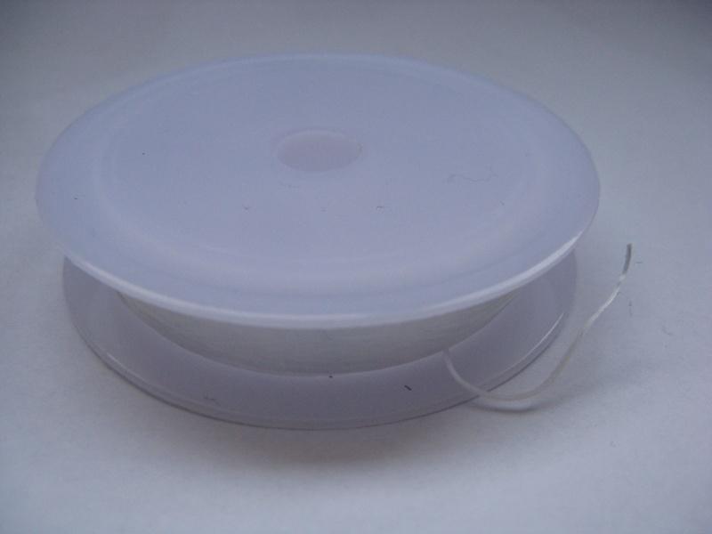 Nylondraad elastisch plat 8mm