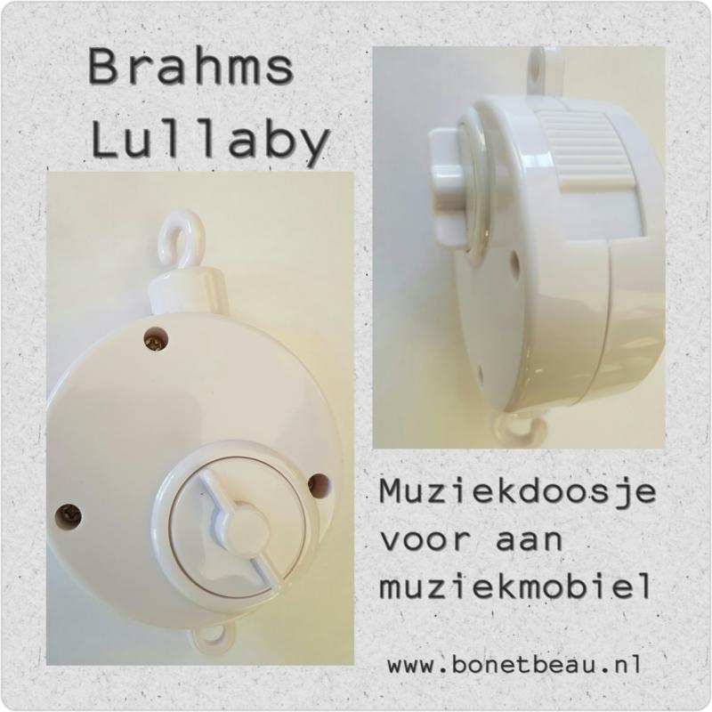 Muziekdoosje voor aan Muziekmobiel Brahms Lullaby